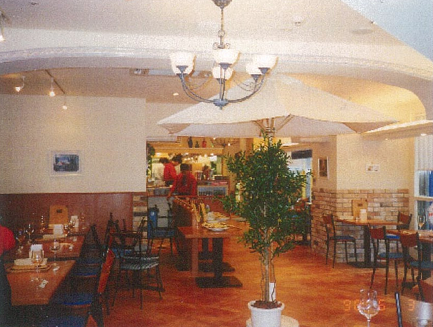 店舗工事 イタリアンレストラン